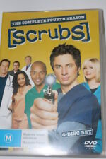 DVD SCRUBS SEASON 4 4 DISC SET MOVIE SERIES TV TELEVISION HOME THEATER WATCH DIY