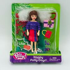 Lila Poly Pockets Happy Polly-Days Stocking Fashion Accessories Dolls