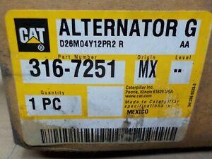 Caterpillar 316-7251: ALTERNATOR GP-CHARGING 24 Volt 105 Amps Heavy Duty
