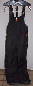 Champion Gray Orange Bib Overall Ski Suit Size YOUTH XL (16-18) L5758B FREE Ship