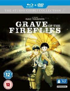 GRAVE OF THE FIREFLIES BLU-RAY [UK] NEW BLURAY