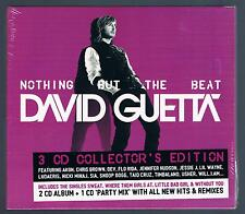 DAVID GUETTA NOTHING BUT THE BEAT - 3  CD SIGILLATO!!!