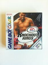 KNOCKOUT KINGS GAMEBOY COLOR PAL NUEVO MINT SEALED PRECINTADO