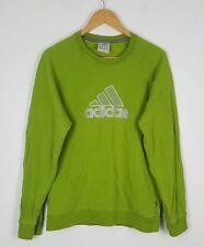 Vintage Retro Suéter Sudadera Adidas 90s Deportes Jumper renovación urbana Reino Unido s