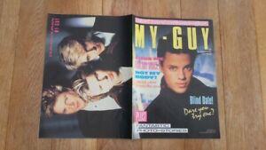MY GUY UK magazine March 1987 - Nick Kamen,Duran Duran,Simply Red,Alison Moyet