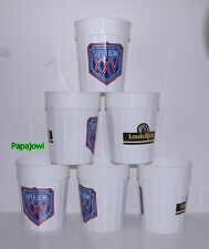 New NFL (12) Super Bowl XXV Louis Rich Plastic Beverage Party Cups