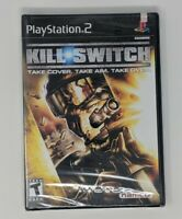 *New* SEALED SONY PS2 Kill Switch Black Label Complete PlayStation FREE SHIPPING