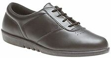 Flat (less than 0.5') 100% Leather Wide (E) Shoes for Women