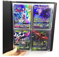 Card Binder Album Folder Book List Portfolio For Pokemon Pikachu Game Collectors