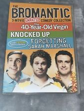 The Bromantic 3-Movie Unrated Comedy Collection (Dvd, 2011) 3 Disc Set