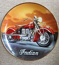 The 1942 Indian 442 Motorcycle Plate Franklin Mint Sharp! Bike Biker