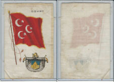 S35 American Tobacco Silk, Flags & Arms, 1910, Egypt (3 X 5 in)