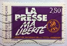 France stamps - La Presse Ma Liberte (My Press Freedom) - 1995 2,80 franc