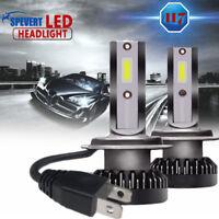 2x H7 110W COB Cree LED Lampadine del Faro Kit Mini Bulbi Auto Luci 6000K Bianco
