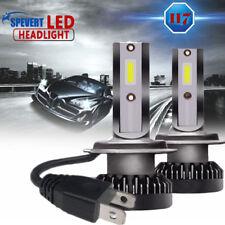 2x 110w H7 COB luz LED Mini Coche Faros Kit Conducción Bombillas 6000k CANBUS