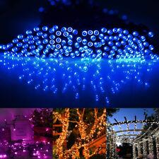 200 100 светодиодная открытый солнечных батареях гирлянда сад Рождество фея рождественский декор