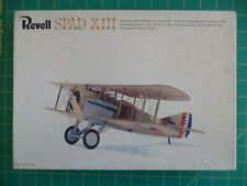 Frank Luke's SPAD XIII - WWI USA Ace -- RARE Revell Kit No. H-290    1:28 scale