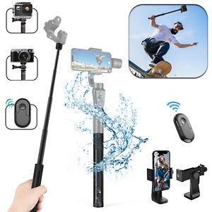 Bluetooth Selfie Self Stick Extendable Monopod Handheld for GoPro Samsung