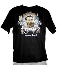 Ned Kelly Such is Life Outlaw Black Short Sleeve Black T Shirt S,M,L,XL,XXL,3XL