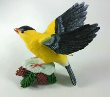 Danbury Mint Goldfinch Christmas Ornament