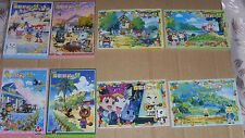 Bandai Animal Crossing Carddass 2006 Theater Memo Pad with Sticker Complet Set