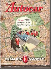 revue automobile: the Autocar: april 2 1948