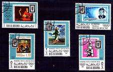 Emiratos Árabes sello sobre sello (AA-799)