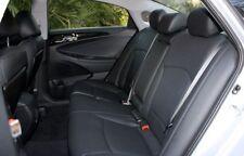 2011 - 2013 Sonata GLS/SE Leather Interior Seat Cover Black