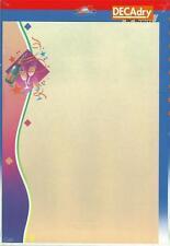 Decadry OPF-3616 Noël Letterhead Fête sur le Thème De A4 Papier,Certificat