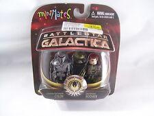 Battlestar Galactica Centurion Cylon & Lt. Boomer MiniMates Action Figures