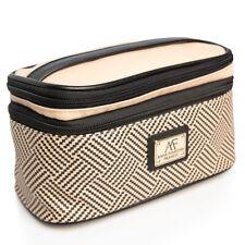 Anna Martina Franco Travel Makeup Train Case Organizer Cosmetic Bag Storage Kit