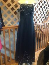 JOVANI  ( SAKS JANDEL ) BLACK PROM / FORMAL LADIES DRESS SIZE 12