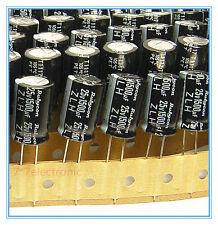 (5pcs) 1500uf 25v Rubycon Electrolytic Capacitor 25v1500uf Low Impedance JAPAN
