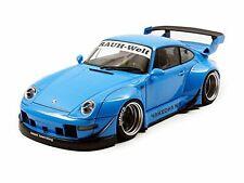 Autoart 1/18 Rwb 993 ( azul cielo / Gun metal rueda )