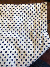 Xhaleration Full Size Flat polka dot cotton poly blend sheets EUC