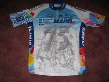 cb803f03d Mapei Day 2012 Santini Italian cycling jersey Sz  Large