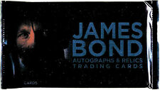 James Bond Autographs & Relics Skyfall Factory Sealed Trading Card Pack