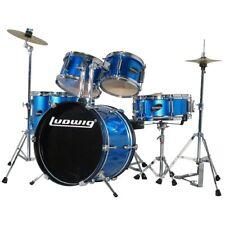 Ludwig 16B-8-10-13F-12S Junior Drum Set - Blue
