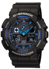G-Shock Mens Favourite series. World Time, Stopwatch, Countdown Timer. GA100-1A2