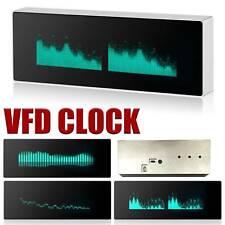 Aluminum Vfd Clock Music Spectrum Display Sound Level Indicator Vumeter Withremote