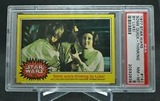 1977 Topps Star Wars #141 Quick Thinking by Luke Skywalker Psa 8 Yellow Series 3