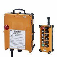 Industrial Radio Hoist Crane Wireless remote control F23-BB(S) AC/DC18V-65V 1+1