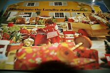 Vintage Large trade 1970 Lundby dolls house catalogue an exact copy from archive