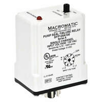 MACROMATIC SFP120A100 Pump Seal Failure Relay, 120VAC