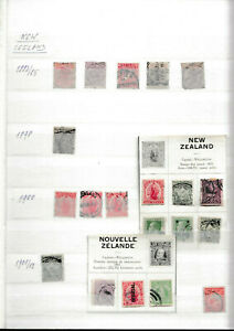 Neuseelanmd, Briefmarken-Sammlung