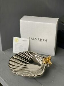 BAPTISMAL SHELL – HAND CRAFTED 24K PLATE - SALE NOW ON