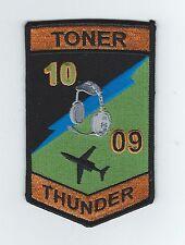 "PILOT TRAINING CLASS 10-09 ""TONER THUNDER"" patch"