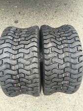 TWO 15X6X6 15X6.00-6 Turf Tires Garden Tractor Lawn Mower Riding Mower Fast Ship
