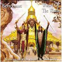 BJORN LYNNE Wizard of the Winds / When the Gods Slept CD Norway Electronic/Prog