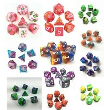 Role playing games dice sets DnD Warhammer